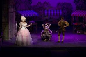 Fairy La (Daphne Said) gives Jack (Paul Cuschieri) a helping hand.