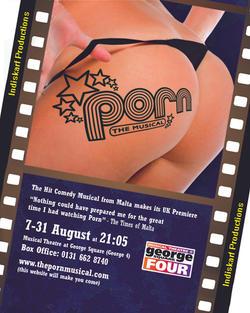 Poster for the 2009 run at the Edinburgh Fringe