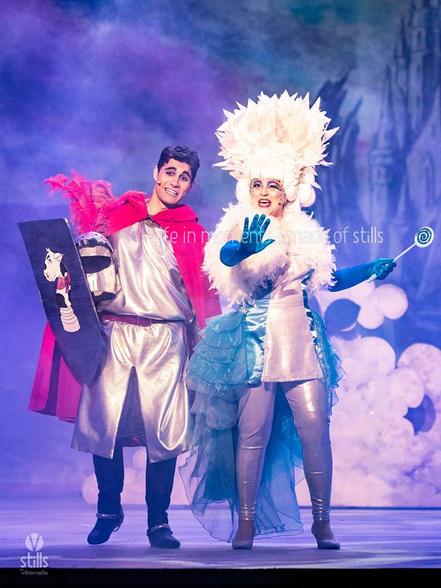 Jack (Matthew Ben Attard) and Fairy Fanfanee (Katherine Brown).