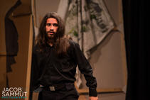 Philip Leone-Ganado as William, the play's director with a secret agenda.