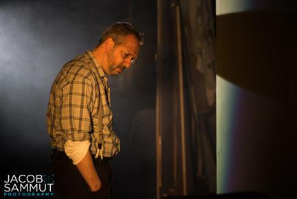 Kris Spiteri as Alfred, the theatre's old caretaker.