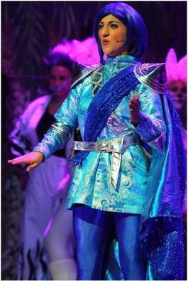 Little Boy Blue played by Kristina Frendo.