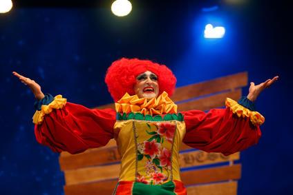 Dame Mama Sufia played by Jean Pierre Busuttil.
