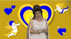 Maria Eleonora Zammit as the goddess Janusina.