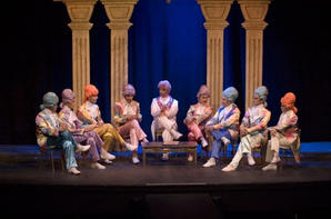 The Fairy Godfather heads a secret meeting of the Fairy Mafia.