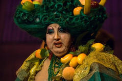 The Dame played by Ray Calleja's alter-ego Jo Zette.
