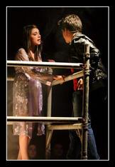 Vanessa Gatt and David Chircop as Juliet and Romeo