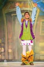 Jack (Matthew Ben Attard) makes another wish and his fairy godmother causes his trousers to fall down yet again.