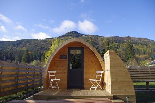 Strathyre Camping Pod 1 night stay