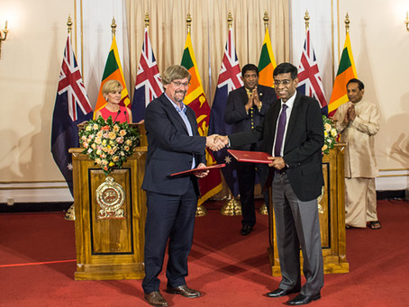 Australian Foreign Minister announces partnership with Sri Lanka