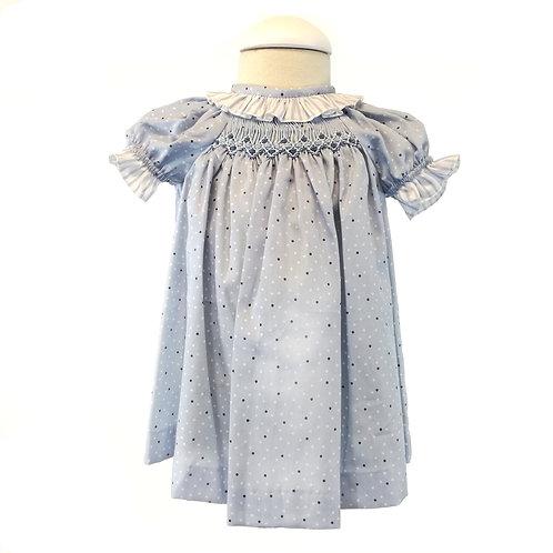 Polka Smock Dress