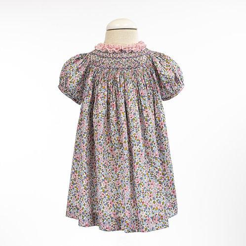 Liberty Print Smock Fly Dress