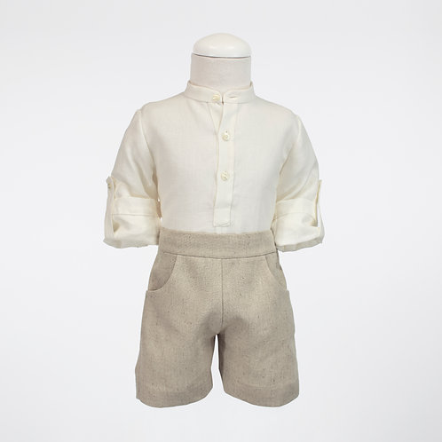 Natural Linen Outfit