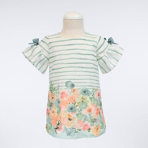 Aquarelle Camisola Dress
