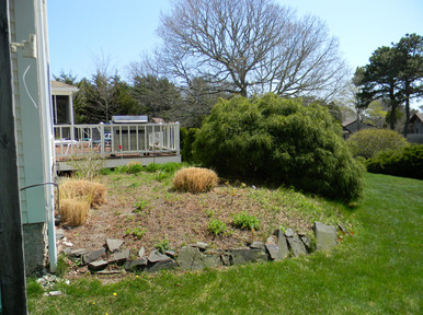 Before: A homeowner's solution to an awkward area 20-plus years after construction
