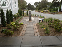 Memorial to Fallen Officers at Yarmouth Police Headquarters