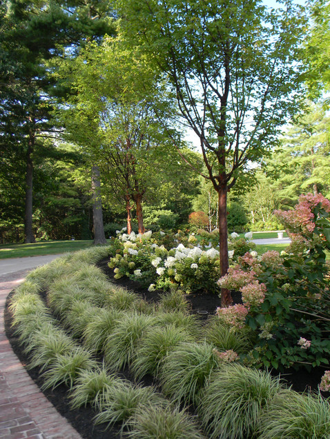 After: Driveway Garden