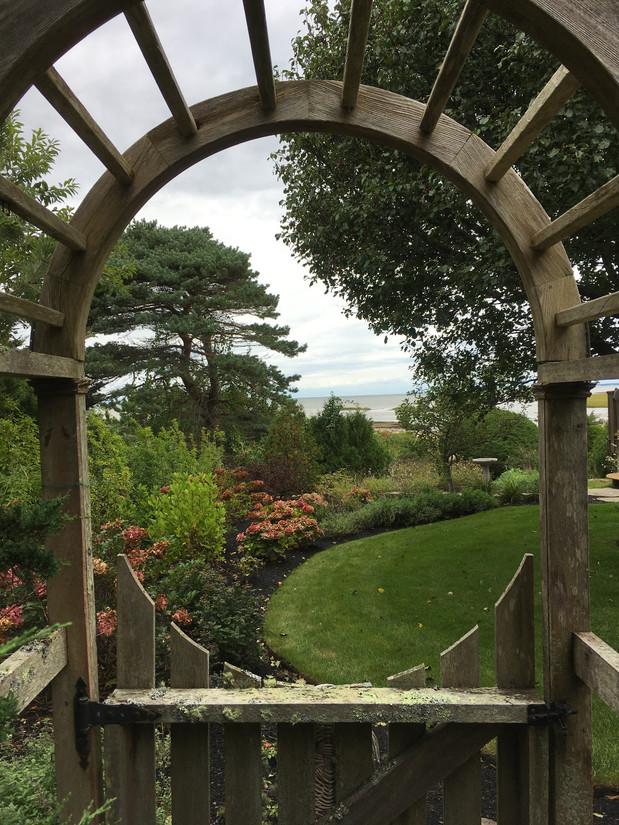 Paradise beyond the garden arch