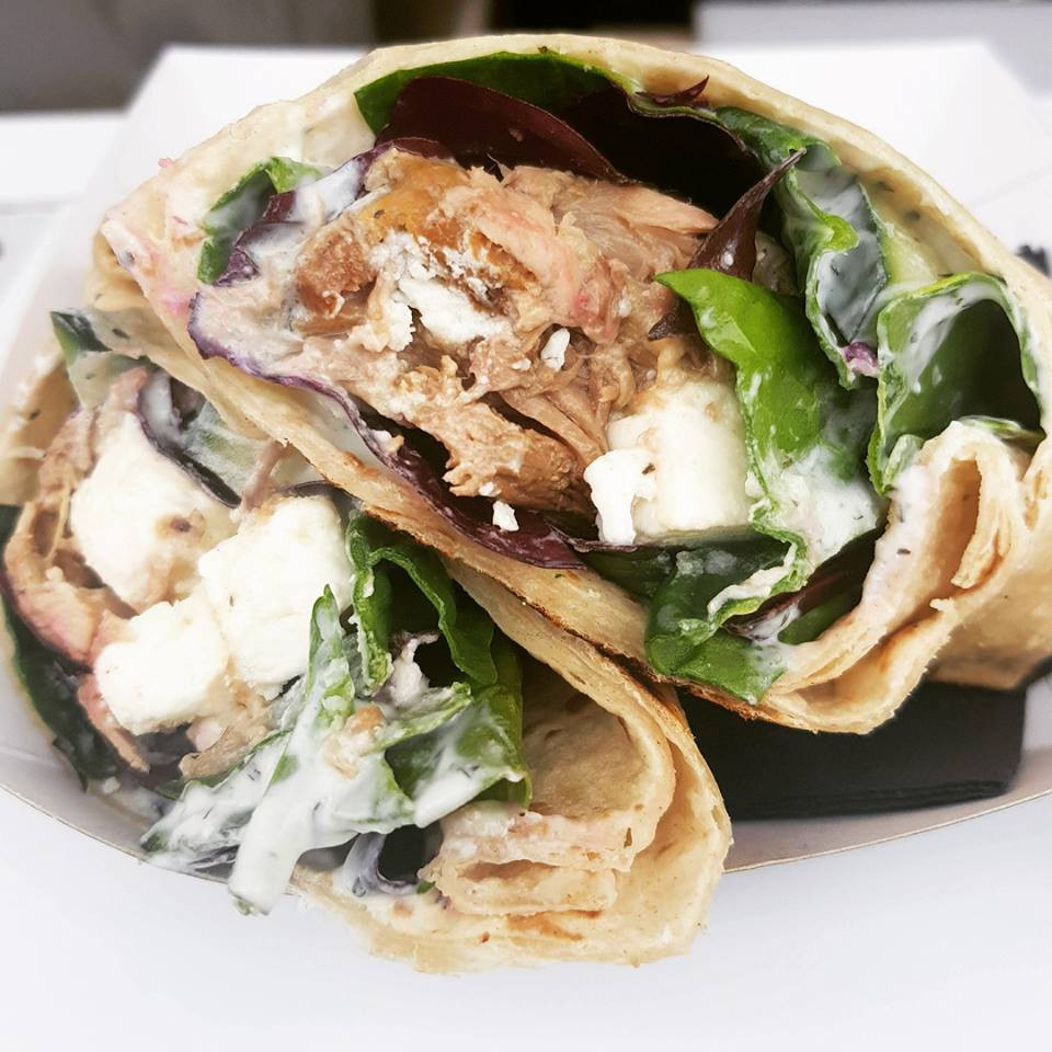 Ball St Deli Lamb wrap