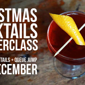 Competition Time: Win a pair of tickets for Peddler Christmas Cocktail Masterclass