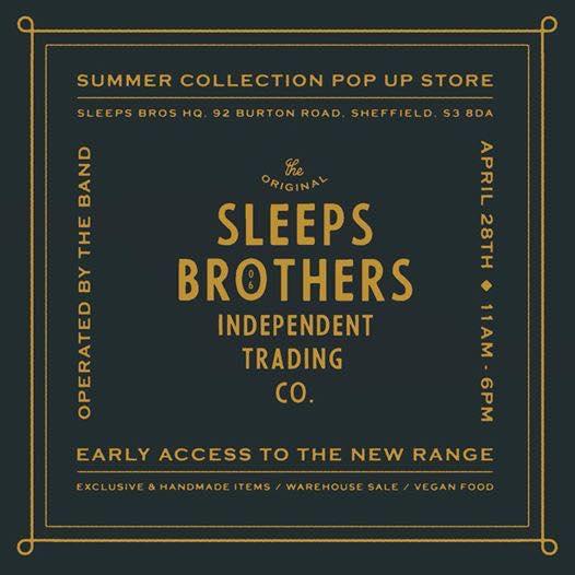Sleeps Brothers Pop-Up Shop