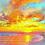 Thumbnail: Alice's Sunrise 1000mm X 1000mm