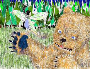 Hugh Cooney Mspaint bear and fairy.jpg