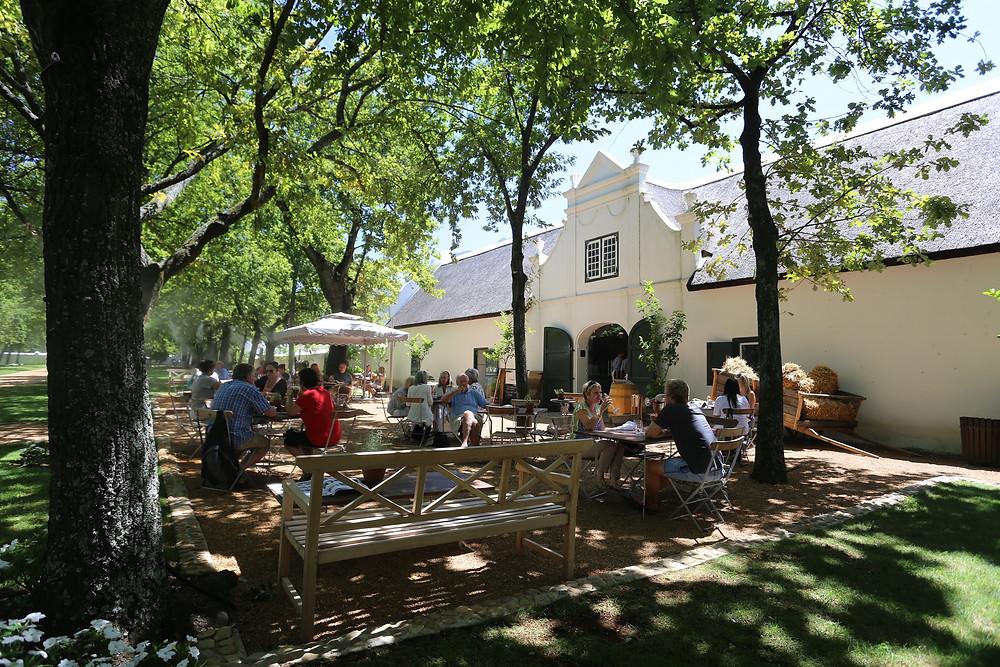 Stellenbosch Franschoek degustação vinhos cape town guia turístico