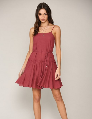 Spaghetti Strap Jersey Dress