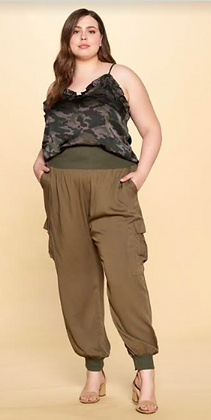 Plus Size Relaxed Pants