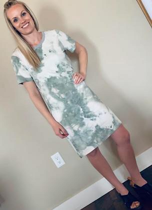 Buttery Soft Tie Dye Dress