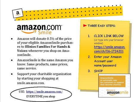 Make us your charity of choice for Amazon Smile…..