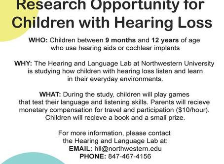 Northwestern University Research Opportunity…
