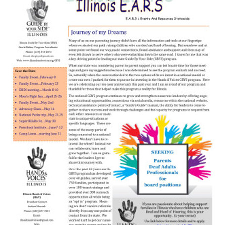 """Hot off the Press… The February 2020 """"We're All E.A.R.S."""" Newsletter…"""