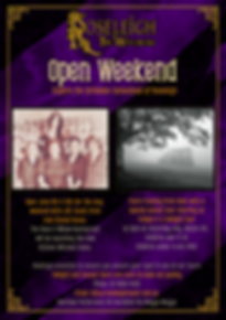 Roseliegh The Witchery - Open Weekend Po