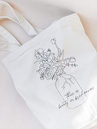 Beauty in Brokenness Tote