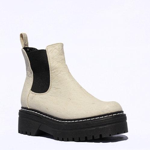 Combat Boots Beige