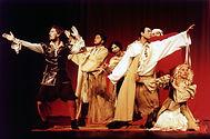 Rosencrantz e Guildenstern companhia do ator careca