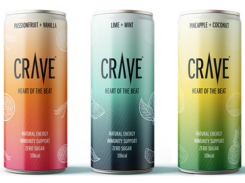 Crave® Natural Energy MIX (3 pack)