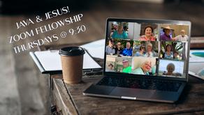 Java & Jesus Fellowship Group - Thursdays @ 9:30 am