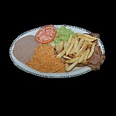 #8 T-Bone Steak Plate