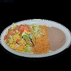 #36 Crispy Taco Plate