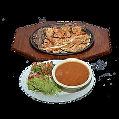 #28 Fajitas & Shrimp Platter