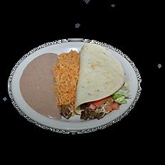 Quesadilla or Taco Child's Plate