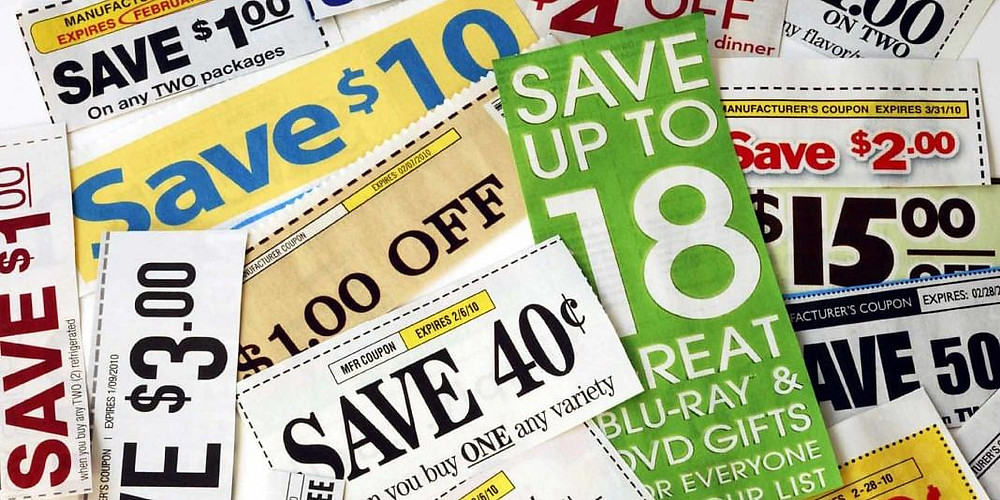 Collecting coupons on shopping