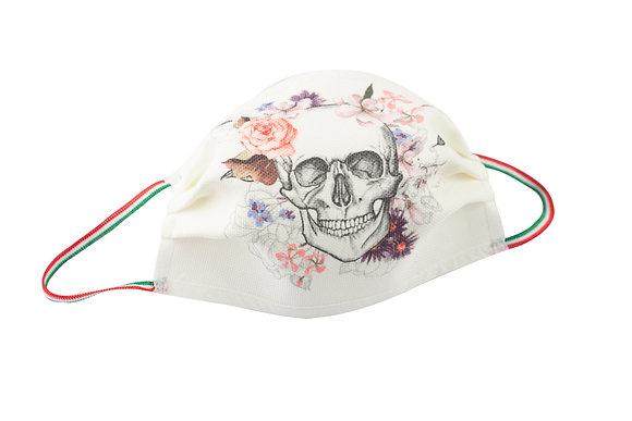 Flowers Skulls