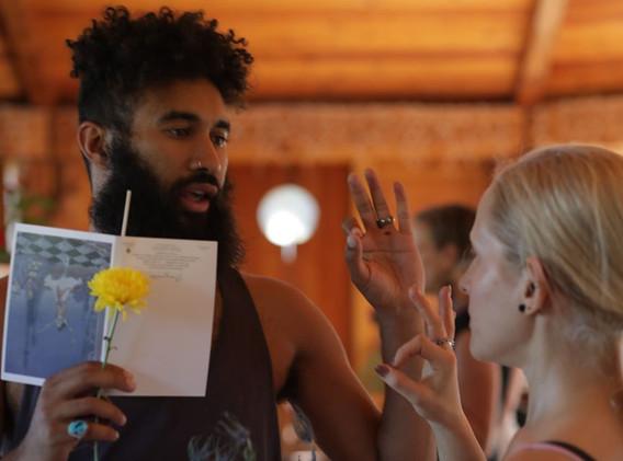 Diego Pinon's Ritual Movement Offering
