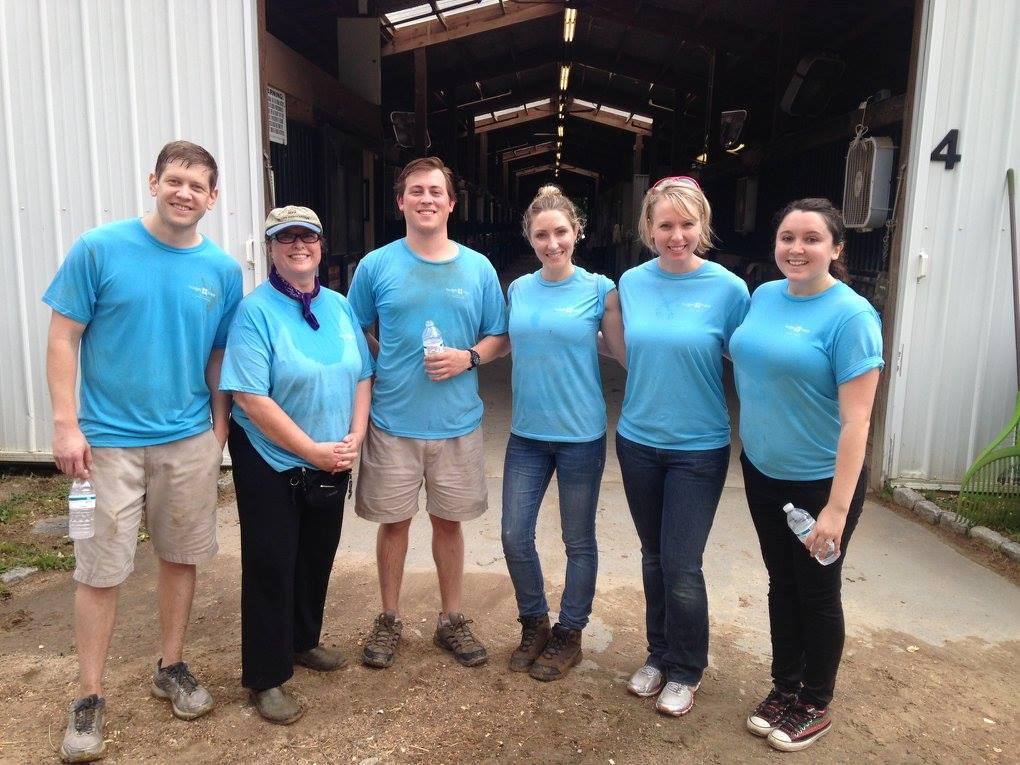 We love our service volunteers