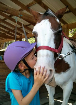 Pony kisses