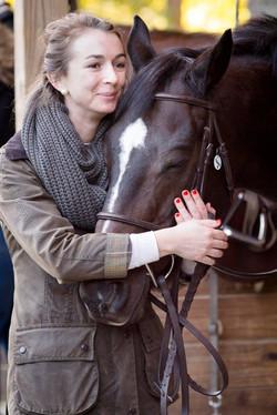 A horse's love!